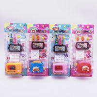 南韩玩具女款过家家厨房餐具套装diy厨房用品树脂蛋糕迷你食物