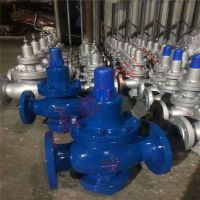 安国市水用减压阀生产厂家Y42X-40C DN200 碳钢蒸汽减压阀 渤工阀门