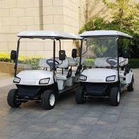 新能源电动四轮观光巡逻高尔夫车 景区巡逻 看房游览代步电瓶车