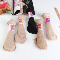 秋季热款包芯丝袜子 韩国天鹅绒女士丝袜 纯色短筒丝袜厂家批发