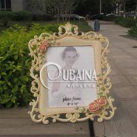 10寸镂空欧式创意田园玫瑰相框影楼相架树脂手绘工艺活动节日礼品