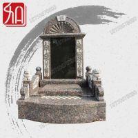 山西黑芝麻黑 多种材质 专业国内墓碑可定做 精致龙凤雕刻碑柱