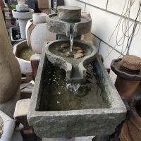 石雕景观室内工艺品 花岗岩动态流水喷泉园林水景室内招财摆件