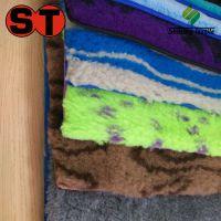 厂家直接供应提花宠物毛毯/超柔保暖提花毛绒毯子/印花宠物窝垫子