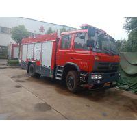 老款东风5.5吨6方水罐消防救火车全国配送5.0L