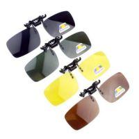 二代日夜偏光夹片 超轻近视夹片 男女防炫目司机眼镜 大夹头通用