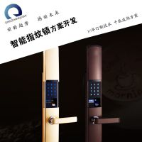 滑盖智能锁半导体传感锁体产品设计研发主板pcb方案 单片机芯片