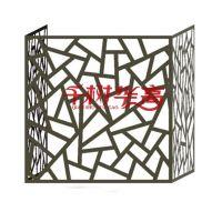 广东厂家创意环保新型 铝合金空调外机罩 冲板花式雕花主机罩防水尘