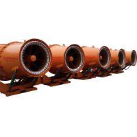 北华厂家供应工地除尘雾炮机 防冻加热射流喷雾风机