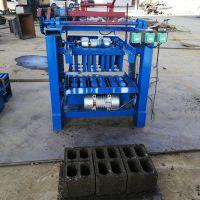 垣华直销环保免烧水泥砖机 支撑垫块砖机 水泥免烧空心砖制砖机