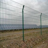 双边丝小区护栏网|公路绿色铁丝围栏网/养殖业防护栏/昌熙现货供应