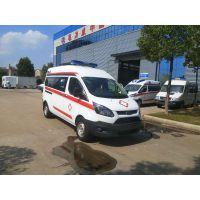 福特新全顺V348监护型救护车改装厂家价格