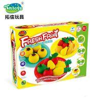 *厂家直销儿童DIY水果彩泥创意玩具DIY黏土彩泥幼儿园玩具