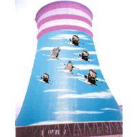 海口凉水塔美化粉刷公司奉献创新