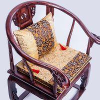 中式椅垫红木沙发坐垫餐椅垫皇宫椅太师椅椅垫实木圈椅椅子凳子垫