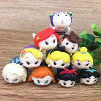 冰雪奇缘爱莎花仙子白雪公主叠叠乐玩具摆件装饰儿童生日礼物