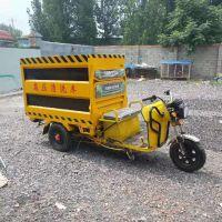 小型路面清洗车 电动三轮高压清洗车小型流动冲洗车