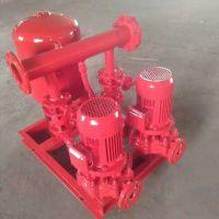 电动消火栓泵8.6/55-150L(W)单级单吸稳压泵/工地调试加压泵