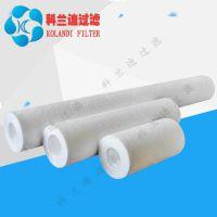 天津污水过滤厂家用优质水滤芯过滤精度高熔喷滤芯
