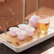 国庆礼品定制 茶具定制logo礼品套装送礼含礼盒 家用喝茶盖碗简约茶杯