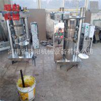 商用家用液压香油机 新型芝麻冷榨机 山茶籽压油机厂家