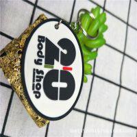 彩色双面浮雕金属圈钥匙扣 动漫卡通PVC公仔钥匙挂件 承接UV彩印