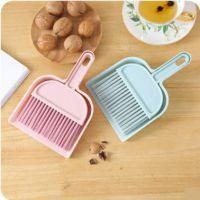 小扫把小扫帚家用短把扫帚簸箕套装吧台桌面清洁迷你小型扫床刷子