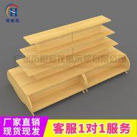 恒峪龙厂家直供文具店层格式货架全木堆头展示架T10