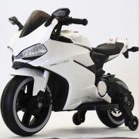 新款儿童电动车三轮摩托车大号可充电三轮外贸出口新款杜卡迪
