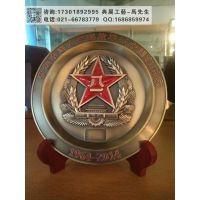 内蒙古部队活动礼品,武警战士退役奖牌,军事训练仪式工艺品定制