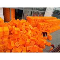 红原购物篮配送箱高强度物流工具箱胶框生产厂家 PP胶框