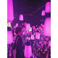 重庆呼应森林出租光影展制作人气互动灯光艺术