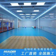 乒乓球场地地胶 室外橡胶地板施工