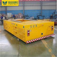 帕菲特搬运设备定制 电子厂物料车 水利施工用无轨电动平板车