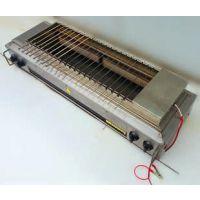 昆山ET-KF08商用加长版无烟燃气烧烤炉多少钱一台