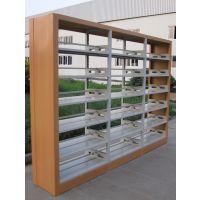 图书馆书架钢制单双面书架学校图书室阅览室书籍室铁书架
