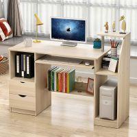 全实木电脑桌日式书桌简易台式办公桌组合家用转角桌子写字台桌椅
