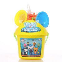 动漫海底总动员小猪夏季儿童戏水套装礼品玩大沙滩桶