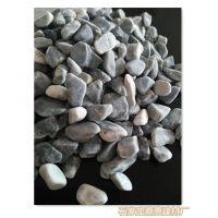 机制灰石子 灰色水磨石子 透水地坪骨料3-6mm
