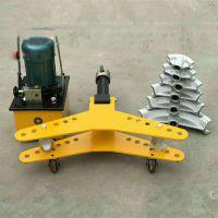 预应力机械钢管弯管机手动液压弯管机钢管打弯机卡博恩供应