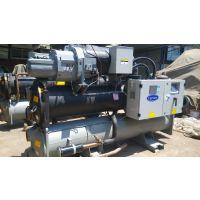 收售二手中央空调冷水商用工业用冷水机组开利30hxc165螺杆式冰水主机