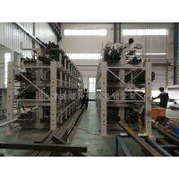 广东金属材料使用仓储货架 新型伸缩双悬臂货架价格 放钢材用