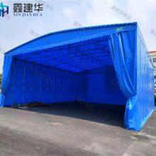 山东安装电动伸缩雨棚价格一般是多少呢 聊城仓库的门口做推拉雨篷规划 布