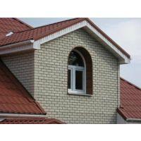pp仿砖装饰外墙板 色彩丰富,线条平整,文化石立体感强