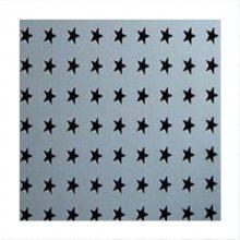 天花板五角星型冲孔网隔音吸音 桌椅冲孔五角星孔洞洞板展示柜装饰网幕墙网