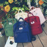 新款日韩版原宿双肩女包包学院风休闲水洗帆布包背包学生书包