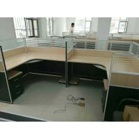 郑州隔断电脑桌价格——板式办公桌定做图片·新闻