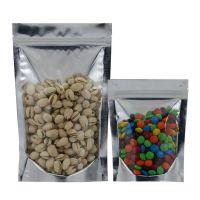 透明阴阳自立拉链袋干果袋食品级包装袋