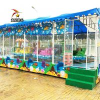 欢乐喷球车童星游乐户外儿童游乐设备项目轻松创收