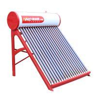 节能环保太阳能厂家批发定制海纳德农村家用防冻一体式单机28支管太阳能热水器